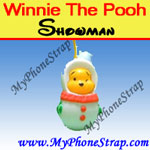 Click here for WINNIE THE POOH RED SNOWMAN PEEK-A-POOH BY TOMY ... JAPAN CHRISTMAS EDITION Detail