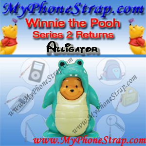 WINNIE THE POOH ALLIGATOR PEEK-A-POOH BY TOMY ... US FIGURE COLLECTION 2 RETURNS DETAIL