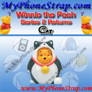 WINNIE THE POOH KITTY CAT PEEK-A-POOH BY TOMY ... US FIGURE COLLECTION 2 RETURNS DETAIL
