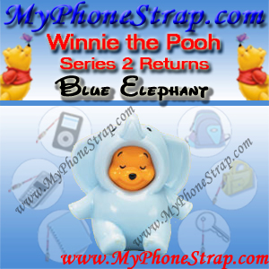 WINNIE THE POOH BLUE ELEPHANT PEEK-A-POOH BY TOMY ... US FIGURE COLLECTION 2 RETURNS DETAIL