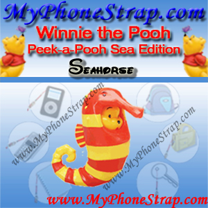 WINNIE THE POOH SEAHORSE PEEK-A-POOH BY TOMY ... US SERIES 7 SEA ANIMAL EDITION DETAIL