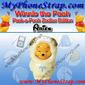 WINNIE THE POOH ARIES PEEK-A-POOH BY TOMY ... US SERIES 11 ZODIAC EDITION DETAIL