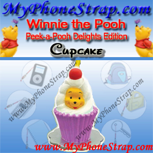 WINNIE THE POOH CUPCAKE PEEK-A-POOH BY TOMY ... US SERIES 19 DELIGHTS EDITION EDITION DETAIL