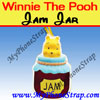 Feature Item : Winnie the pooh Jam Jar Peek-a-Pooh By TOMY -- US Series 19 Delights Edition $1.59