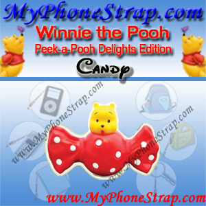 WINNIE THE POOH CANDY PEEK-A-POOH BY TOMY ... US SERIES 19 DELIGHTS EDITION EDITION DETAIL